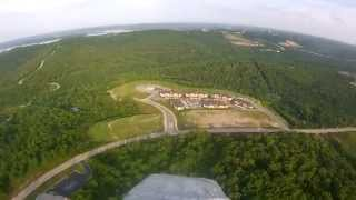 Flying over Branson Missouri
