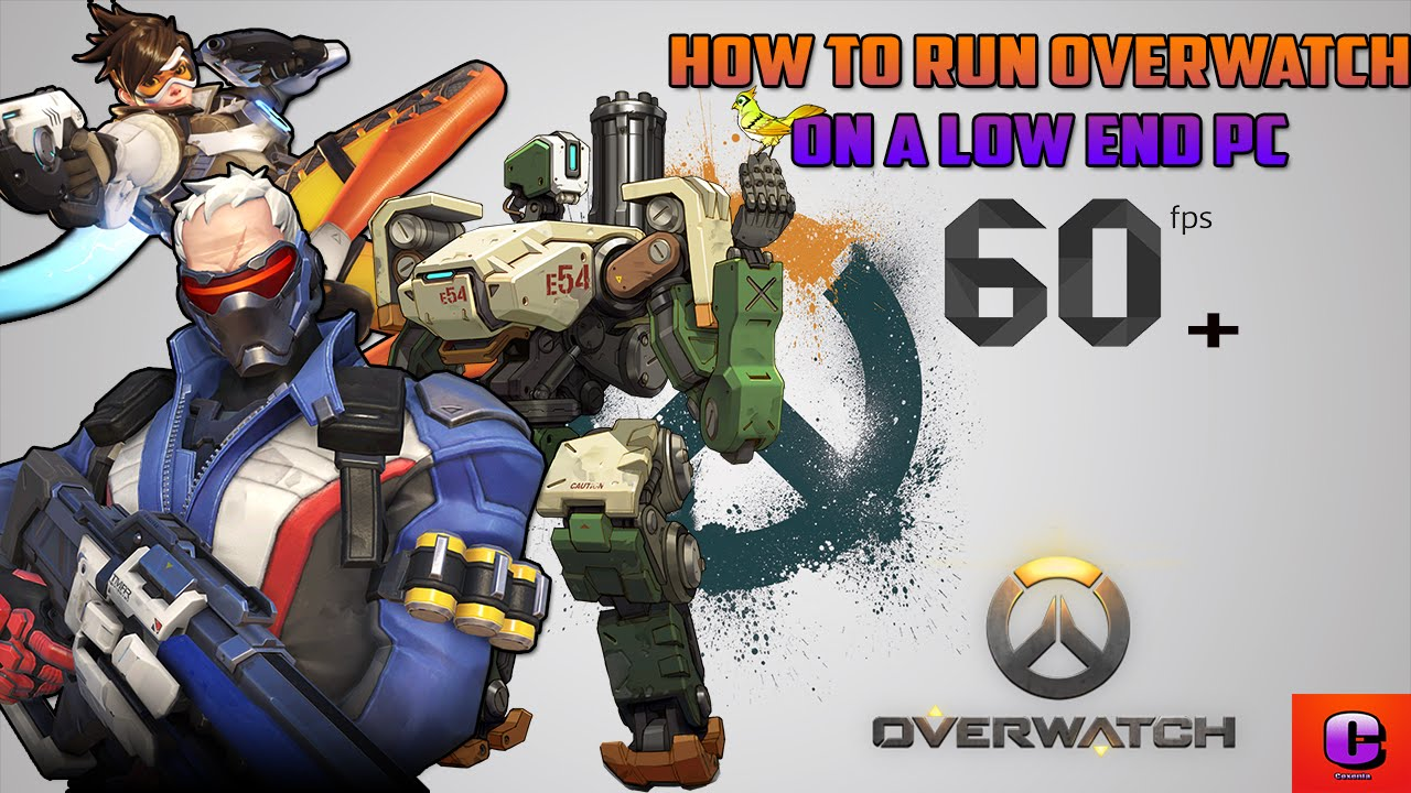 How to run Overwatch on a Low End PC | 60+ FPS Runs Smooth!