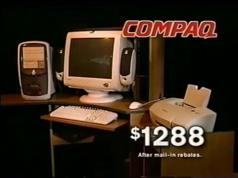 The Brick COMPAQ Computer Commercial