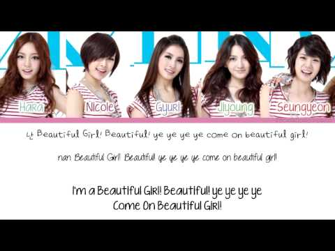 [Color Coded/Han/Eng/Rom] KARA - Pretty Girl