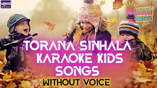 Torana Karaoke 11 Part 1 Kids Songs Without Voice