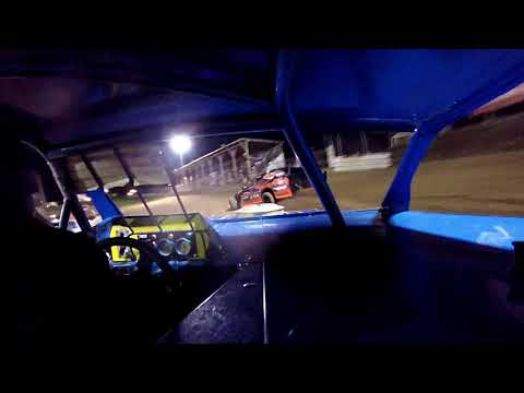 In Car Cam of Marty Smith Jr at Belle-Clair Speedway 8-23-19 ( few laps of Heat Msd box )