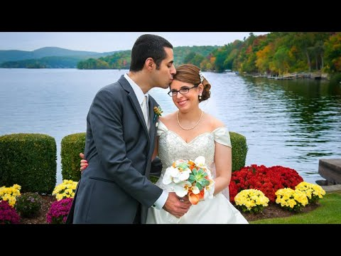 Fall Wedding at Candlewood Inn, Brookfield, CT