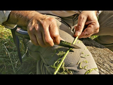 How To Make Natural Cordage From Bramble