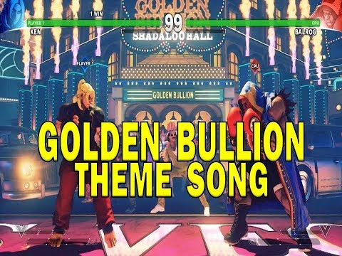 Street Fighter V - Golden Bullion Music Theme - Stage Roller casino