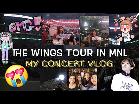 VLOG #01 BTS WINGS TOUR IN MANILA MAY 6 & 7 | Yai Romero