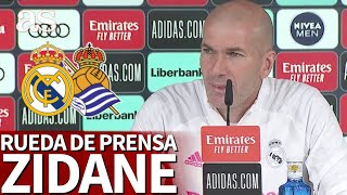 REAL MADRID - REAL SOCIEDAD | Rueda de prensa de ZIDANE | Diario AS