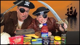 Salty Food Gauntlet : Vegemite, Caviar, Spam, Sardines, Anchovies Challenge : Crude Brothers