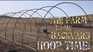 How To Install Hoops For A Greenhouse