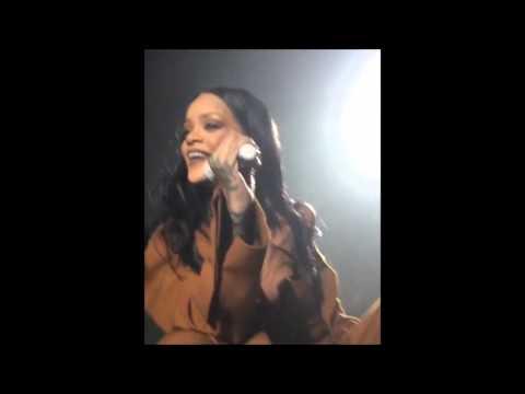 Rihanna - #FourFiveSeconds singing with fan Terah Jay #ANTIWorldTour