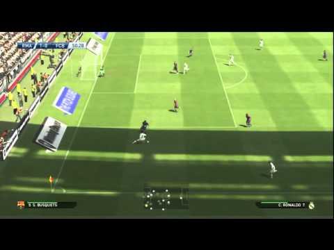 PES 2015 PS3 GAMEPLAY: Real Madrid vs Barcelona (SuperStar Level)
