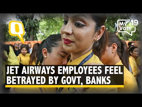 Jet Airways Employees Feel Betrayed By Banks, Govt as Uncertainty Looms | The Quint