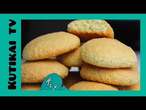 Кокосовые печенья. Легкий рецепт на каждый день