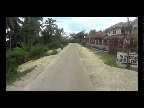 Alona Beach to Tagbiliran, Panglao Island, Philippines