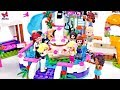 Stephanie's Birthday Surprise! 🎁 Lego Friends story for kids 🎁 Funny adventure at a pool
