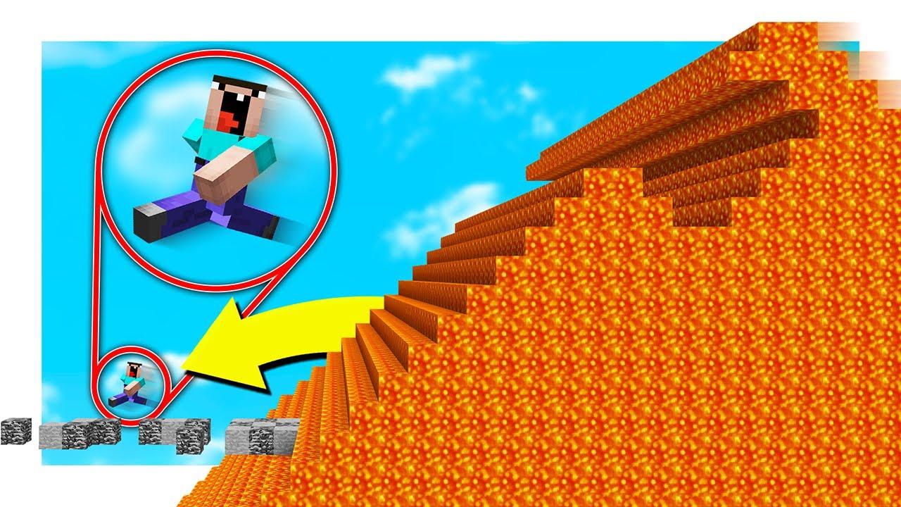 Minecraft THE ULTIMATE LAVA RUN! with PrestonPlayz