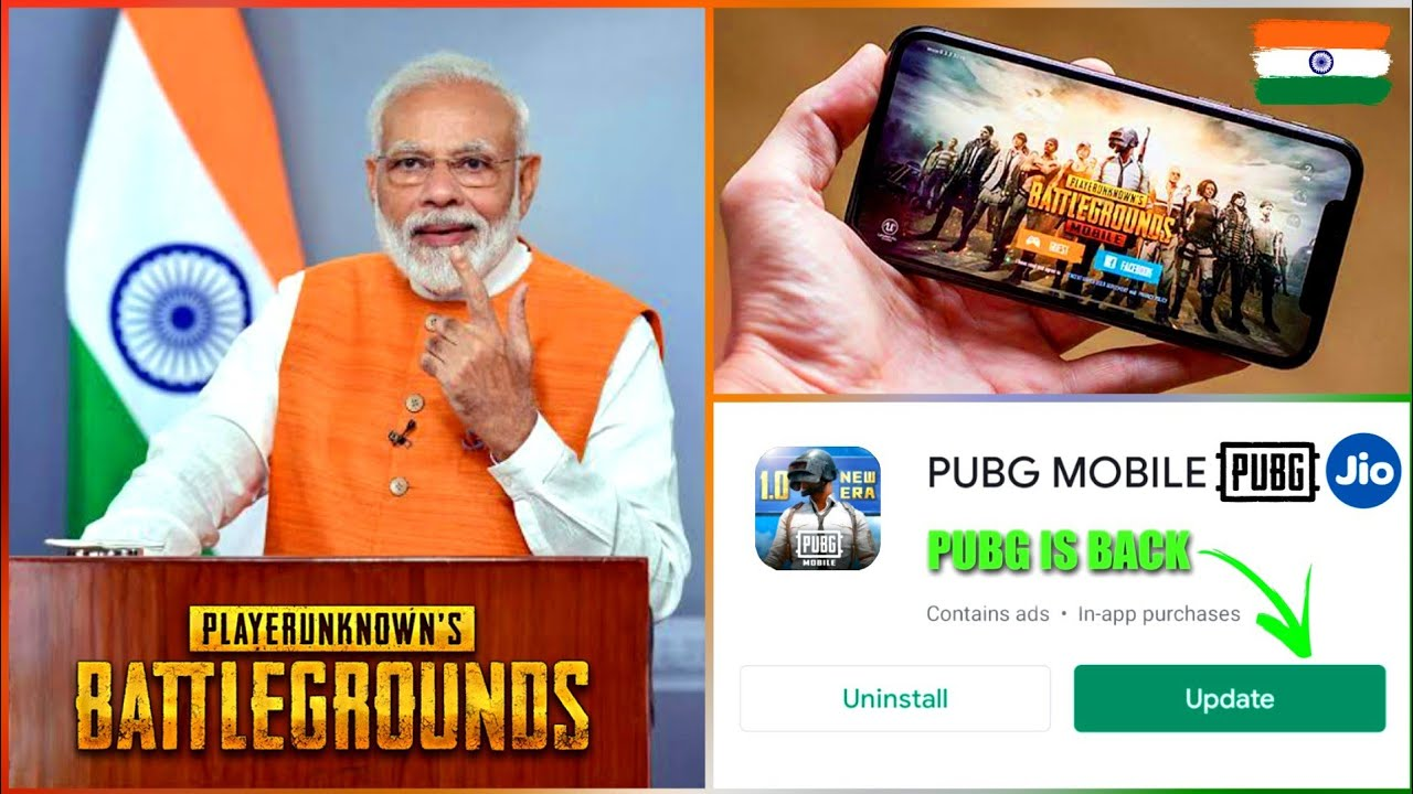 GOVERNMENT RESPONSE ON PUBG UNBAN IN INDIA | PUBG IS BACK ON PLAYSTORE | NEW UPDATE ON PUBG BAN
