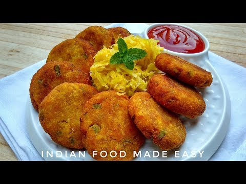 Pumpkin Cutlet Recipe In Hindi By Indian Food Made Easy