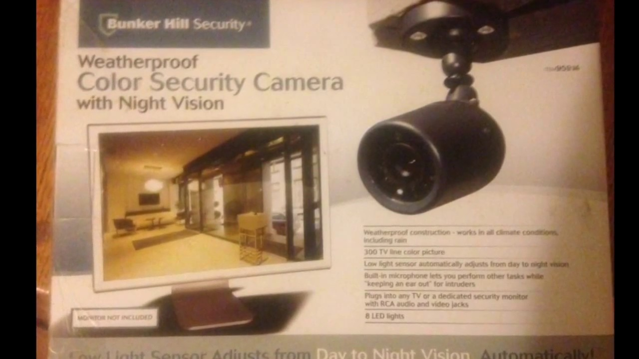 hight resolution of bunker hill security camera wireless color security diagram wire bunker hill security camera wireless color security diagram