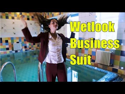 Wetlook business suit | Wetlook suit