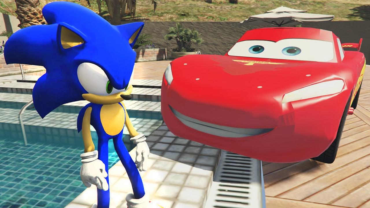Sonic ve Afacan Kız Saklambaç Oynarken Ejderha Yavrularıyla Karşılaşır (GTA 5 Hikaye Modu)