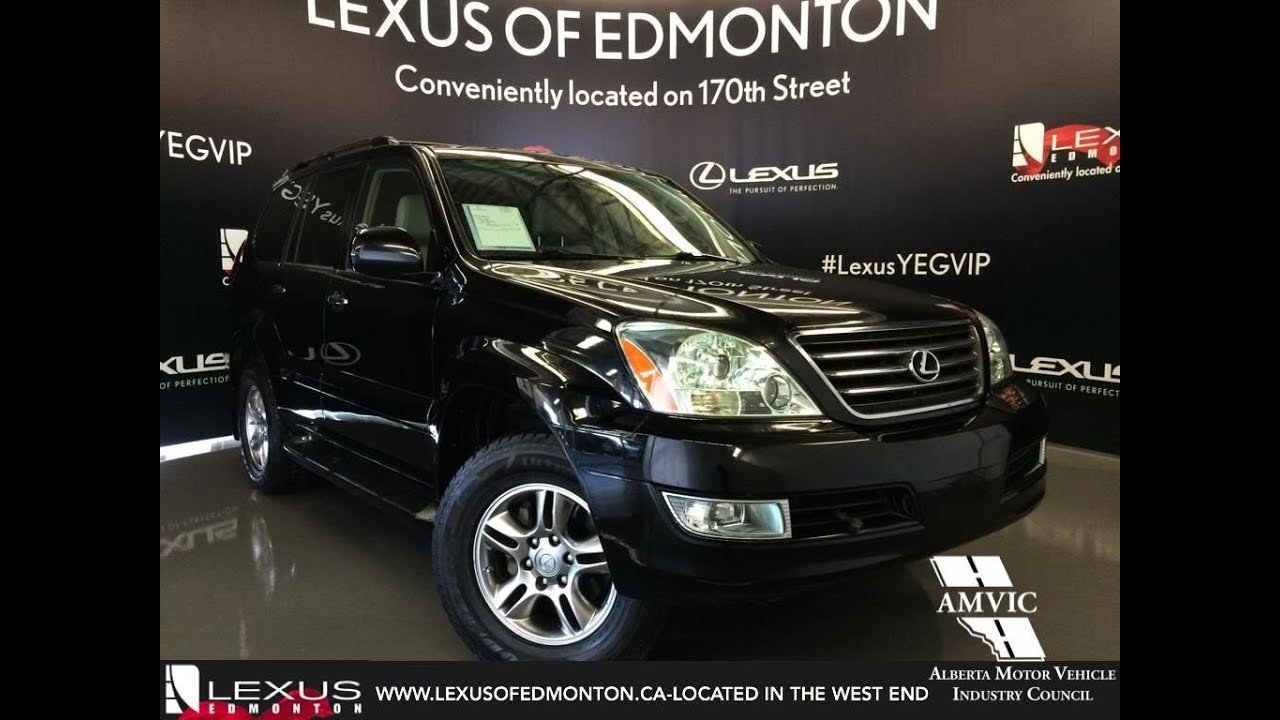 Used 2009 Black Lexus Gx 470 4wd Ultra Premium In Depth Review Lloydminster Alberta
