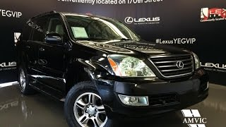 Used 2009 Black Lexus GX 470 4WD Ultra Premium In Depth Review | Lloydminster Alberta