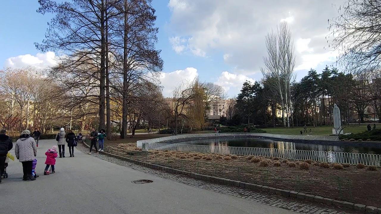 Novi Sad park u centru