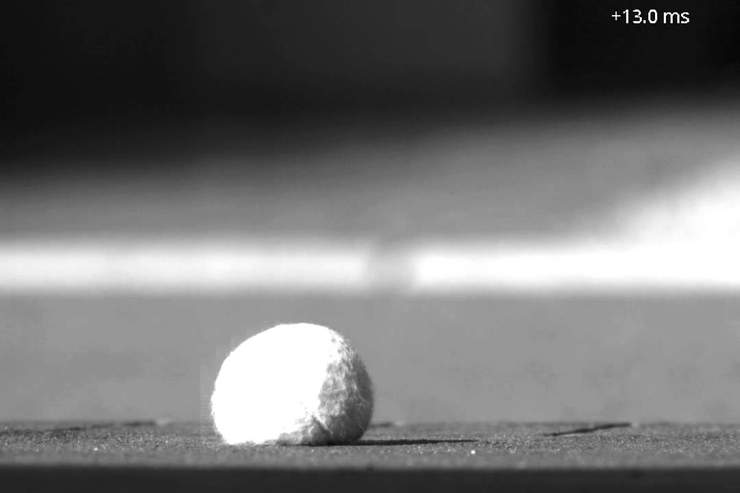 Ball Bouncing In Slow Motion Tennis Ball Youtube