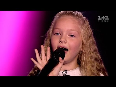 Varvara Koshova Wrecking ball Blind Audition – Voice.Kids – season 3