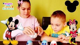 Überraschung Micky Maus Wunderhaus Kinder Überraschungseier Surprise Eggs Minnie Maus Deutsch