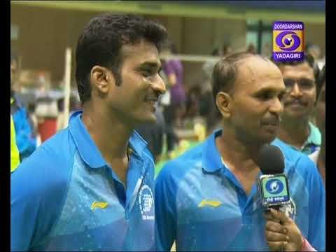 Defence Accounts Department Badminton Tournament Report,Hyderabad