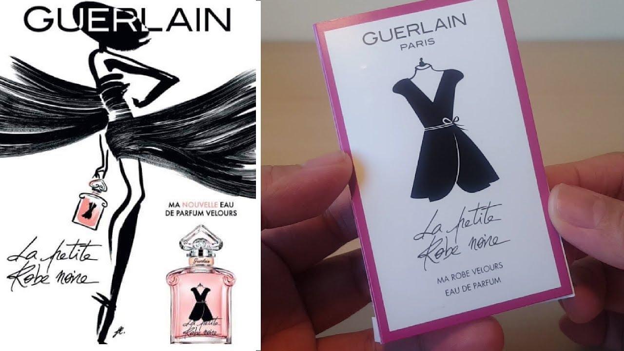 a9f91f5895  NEW  Guerlain La Petite Robe Noire Ma Robe Velours 2019