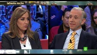 Énesimo enfrentamiento entre Tania Sánchez y Eduardo Inda en laSexta Noche
