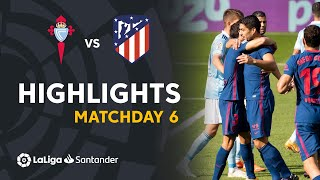 Highlights RC Celta vs Atletico Madrid (0-2)