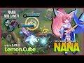 Nana Mid Lane? Non-stop War Wind Fairy by RRQ`Lemon Top 2 Global Popularity ~ Mobile Legends