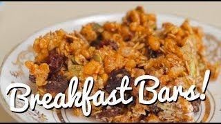 Make Your Own Breakfast Bars! - Crumbs
