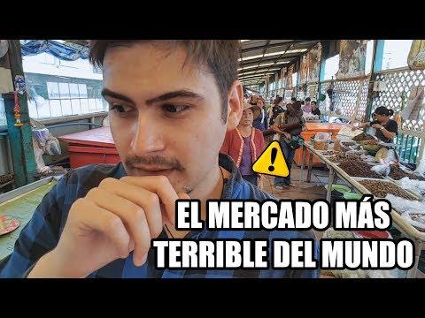 El Mercado más TERRIBLE del MUNDO!