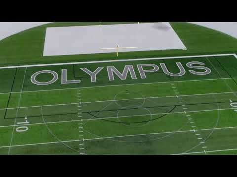 Olympus High School Flyover - Proud to be an American