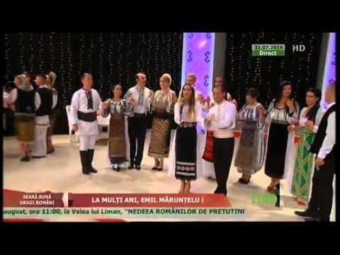 "Livia Pop - Omule hai si petrece emisiune ""Seara buna dragi romani"" 3107"