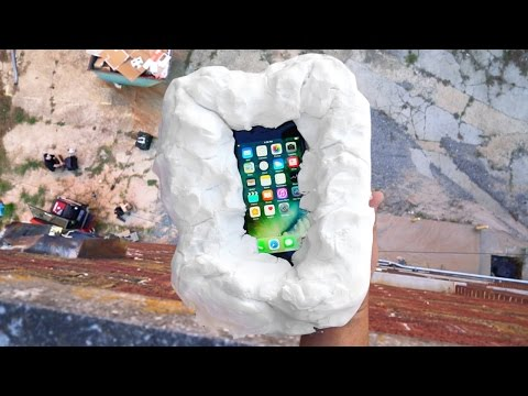 Thumbnail: Can Floof Protect an iPhone 7 from 100 FT Drop Test? - Gizmoslip