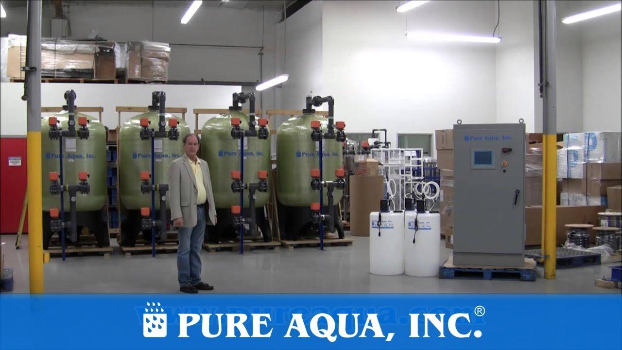 Industrial Seawater Reverse Osmosis Plant Maldives 136 000 GPD