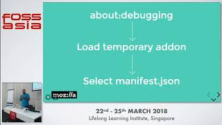Browser extensions - lets make one - FOSSASIA 2018