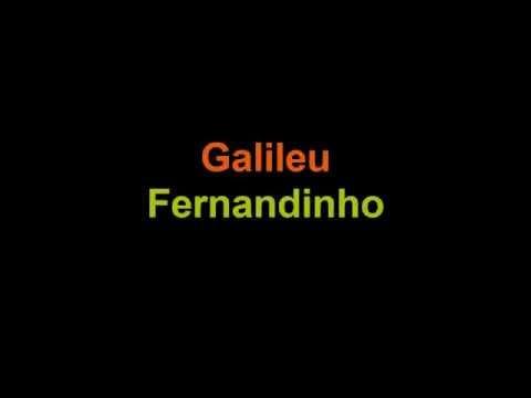 Galileu LETRA (Fernandinho)