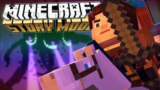 Minecraft Story Mode | A BLOCK AND A HARD PLACE!! | Episode 4 [#1]