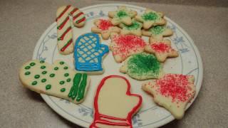 Simple Sugar Cookie Cutout Recipe  (Christmas Cookie Cutouts)