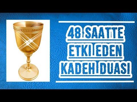48 Saatte Etki Eden Kadeh/Kenzül Arş Duası