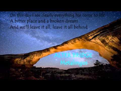 Alter Bridge Metalingus lyrics