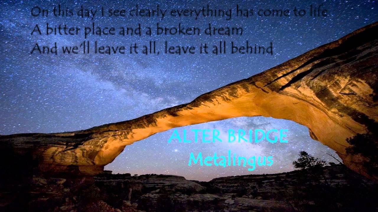 Alter Bridge Metalingus lyrics  YouTube