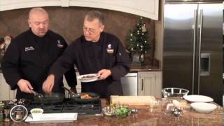 Cooking With Kroger Salmon Cakes And Shrimp  12/16/12  Tom Williams